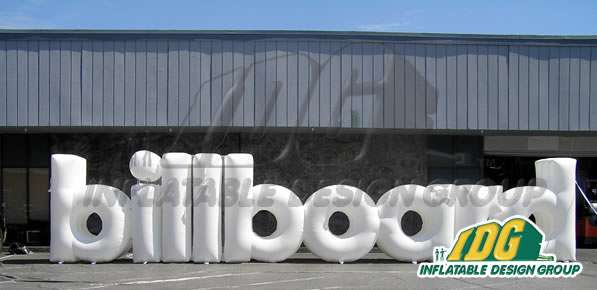 Billboard Inflatable Logo