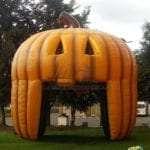 custom halloween inflatables