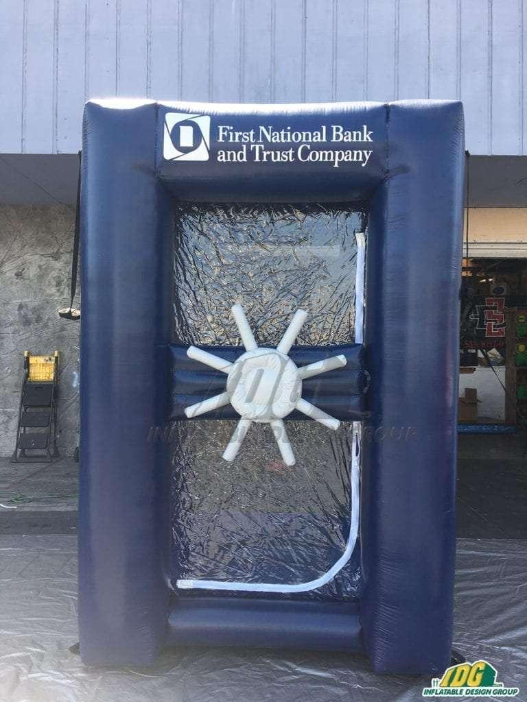 inflatable cash vault