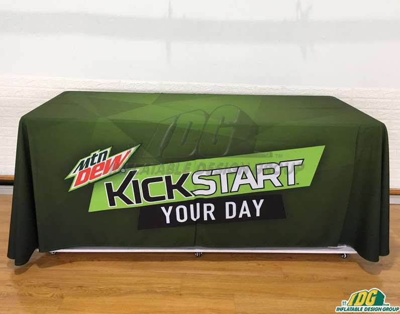 Mountain Dew Table Cover Promotional Product