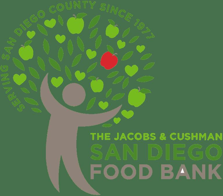 Jacobs and Cushman San Diego Food Bank Logo