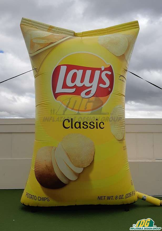 Inflatable Lay's Classic Chips Bag Replica